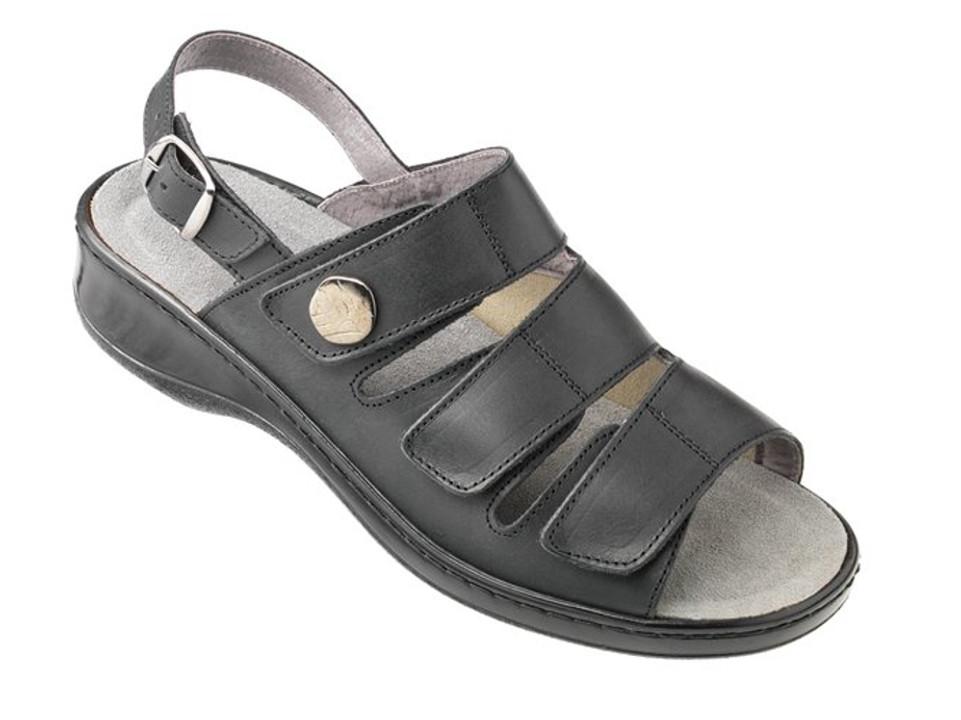 Embla sandal, Utbytbar fotbädd